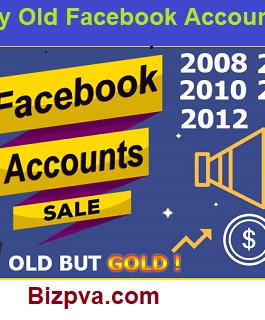 50 Old Accounts