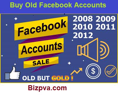 Buy Old Facebook Accounts