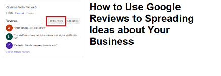 How to Use Google Reviews to Spreading Ideas about Your Business
