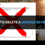 How to delete Google reviews