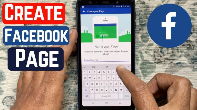 How to make a page on Facebook